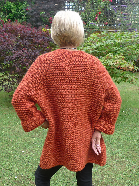 Knitting Patterns For Eskimo Wool : Julie Tootills knitted cardigan - thenovellowoolshop