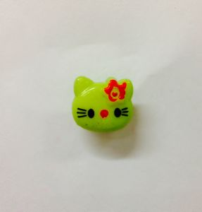 Hello Kitty Shank Button 14mm